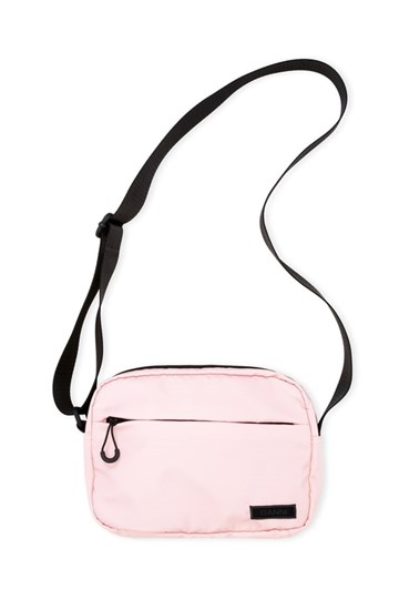 Ganni Seasonal Recycled Tech Fabric Bag - Pink Nectra